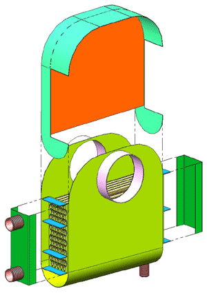 Boiler Economizer Assembly